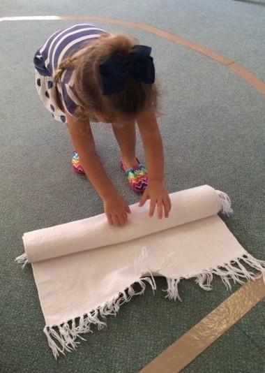 Unrolling rug 2